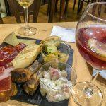 Ronda - Restauracja Restaurante Casa Quino - zestaw tradycyjnych tapas, bardzo smakowity
