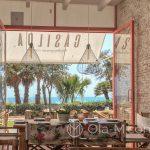 Malaga- restauracja Casilda - słońce, palmy i woda - czego jeszcze można chcieć?