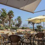 Malaga- restauracja Casilda - pięknie umiejscowiona na plaży Playa del Palo