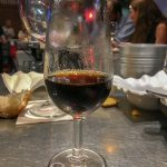 Malaga - Restauracja KGB - wyborne nie tylko potrawy, ale i trunki - tuaj słodkie wino z Malagi na deser