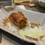 Malaga - Restauracja KGB - potrawa, której nazwy nie pamiętam, ale wiem, że smakowała wybornie