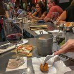 Malaga - Restauracja KGB - krokiety, ale jakie to były krokiety...