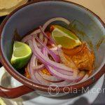 Malaga - Restauracja KGB - ukłon w stronę Meksyku - tortillas z wieprzowiną w sosie limetkowo-paprykowym